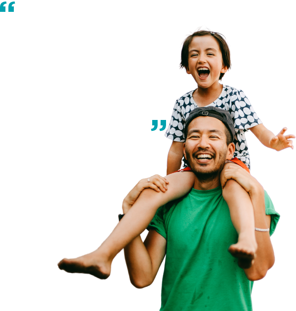 """""""They helped… me get back on my feet."""" – Len M."""
